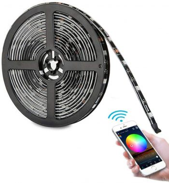 Eyzo Slimme WIFI LED Strip | Bedien met je telefoon | 5 Meter Lang
