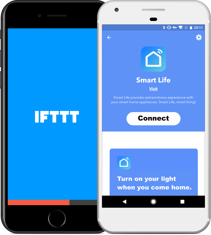 Smart Life app IFTTT